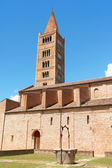 Pomposa Abbey - the Church, Italy — Stock Photo
