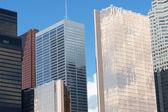 Toronto skyscrapers — Stock Photo