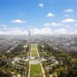 Champs de Mars, Paris — Stock Photo