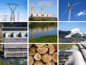 Power and energy consepts — Stock Photo