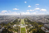 Champs de mars, paris — Stockfoto