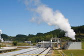 Geothermal power station altenative energy — Stock Photo
