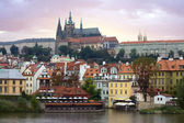 Prague Castle skyline — Stock Photo