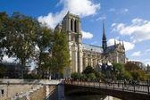 Notre Dame de Paris cathedral, Paris, France — Stock Photo