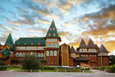Wooden palace in Kolomenskoe, Moscow, Russia — Stock Photo