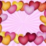 Heart lots of heart — Stock Photo