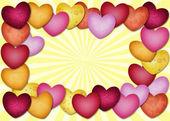 Lots of heart — Stock Photo