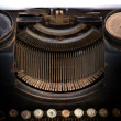Stock Photo: Old type writer