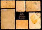 Old postage stamps — Fotografia Stock