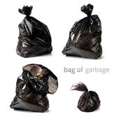 Bag of garbage — Stock Photo
