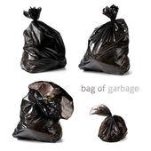 袋垃圾 — 图库照片