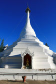 White Pagoda, Thailand — Stock Photo