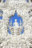 Arte buda blanco — Foto de Stock