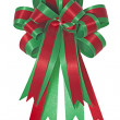 Beautiful satin gift bow — Stock Photo