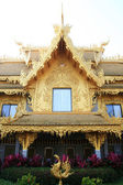 Golden house in Thailand — Stock Photo