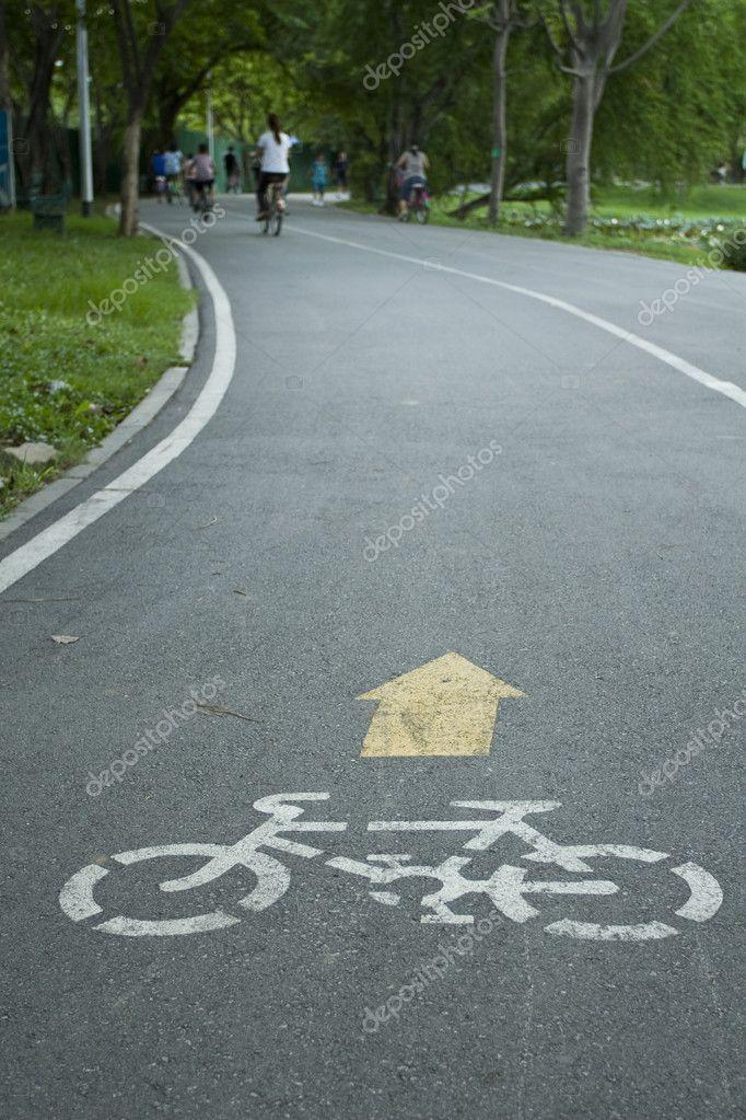 自行车道路标志