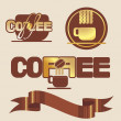 Coffee logo — Stockvektor