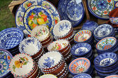 Portuguese porcelain — Stock Photo