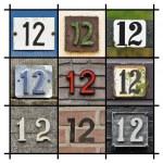 Numbers Twelve — Stock Photo #11644816