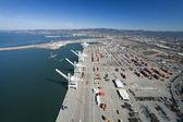 Oakland äußeren hafen luftbild — Stockfoto