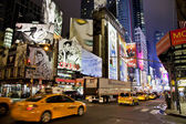 Nueva york - sept 5: times square, ofrecida con broadway el — Foto de Stock