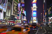NEW YORK CITY - SEPT 5: Times Square, featured with Broadway The — Stock Photo
