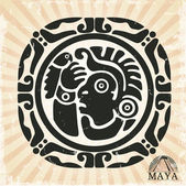 Ornament in style of the Maya — Stock Vector