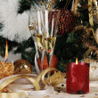 Stock Photo: Christmas eve decor