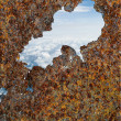 Rusty view - Stock Photo