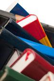 Books Closeup — Stock Photo