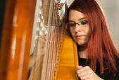 Harp prespective — Stock Photo