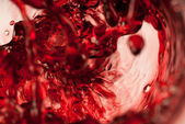 Abstract red wine — Stock Photo