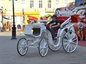 Odessa eski sokaklarında. — Stok fotoğraf