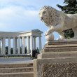 Colonnade on the embankment of Odessa. - Stock Photo