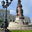 Monument to the Russian empress Catherine II in Odesse.2012 year. Ukraine. — Stock Photo