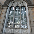 Window of the Odessa state philharmonic society. — Stock Photo