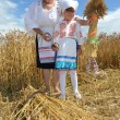 Zazhinki - the Belarusian holiday of the beginning of a harvest. — Foto Stock
