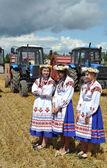 Zazhinki - the Belarusian holiday of the beginning of a harvest. — Stock Photo