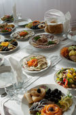 Food on table — Stock Photo