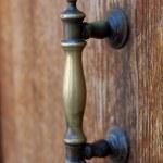 Door handle — Stock Photo #12386710