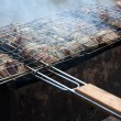 Chicken barbecue on grill. — Stock Photo #12386733