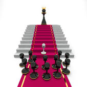 Pawn to queen — Stock Photo