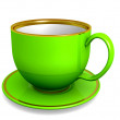 Cup - green — Stock Photo
