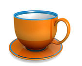 Cup - orange — Stock Photo