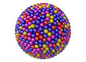 3d abstract sphere — Stock Photo