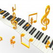 Golden superhit music — Foto Stock