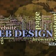 Stock Photo: Web design tags