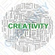 Creativity tags — Stockfoto