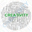 Creativity tags — 图库照片