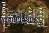 Web-Design-Markierungen — Stockfoto